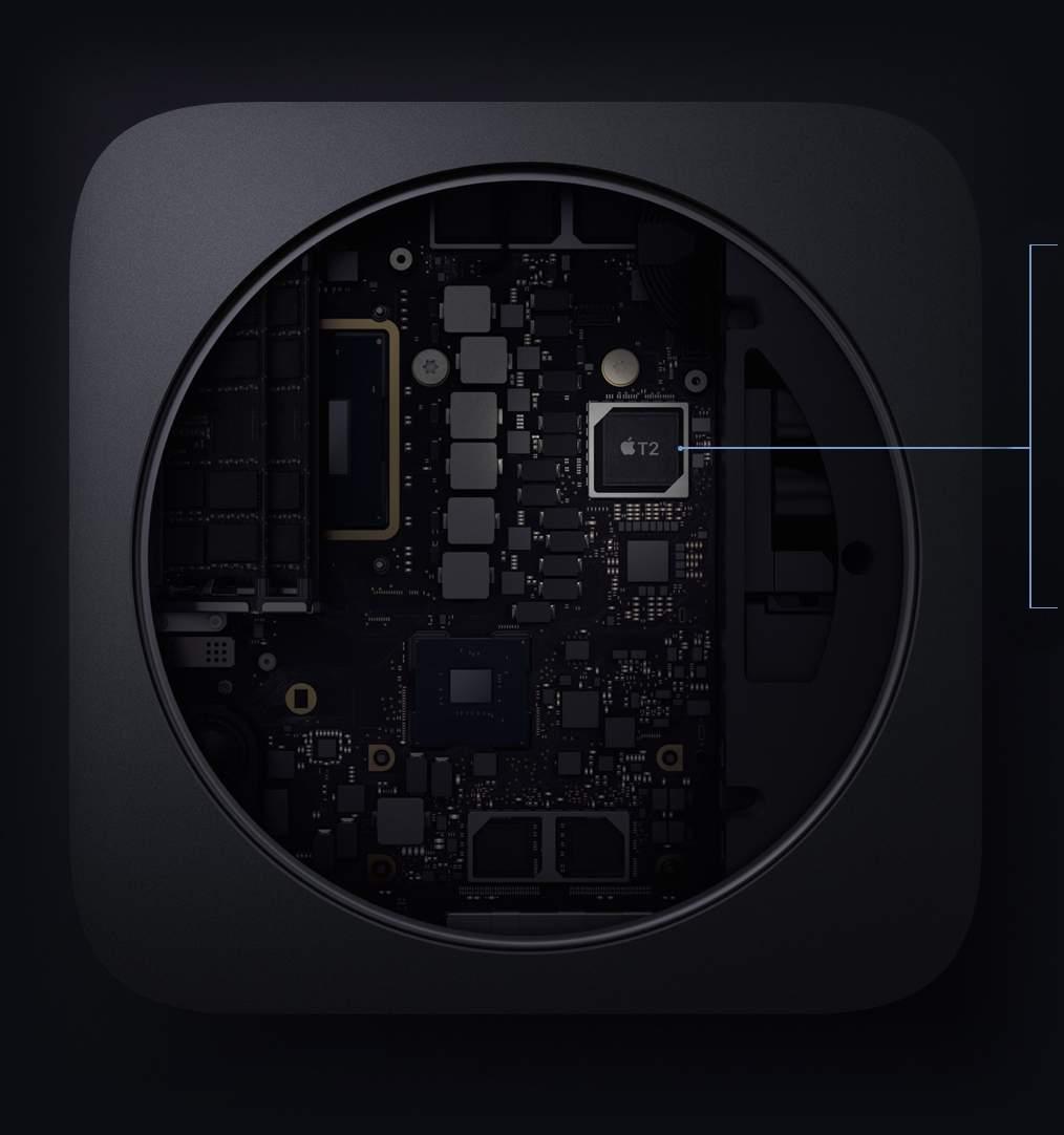 Mac mini T2 sceurity chip