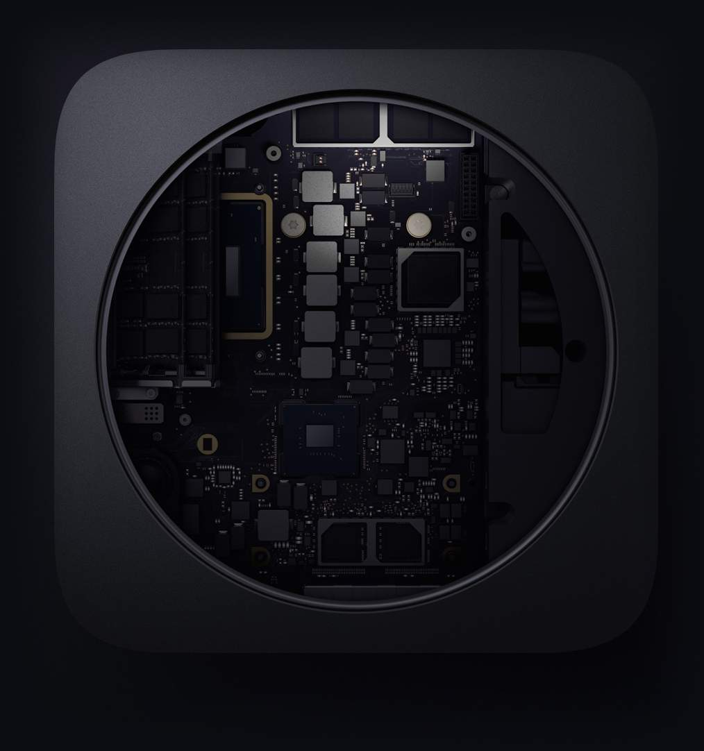 Mac mini tallennus