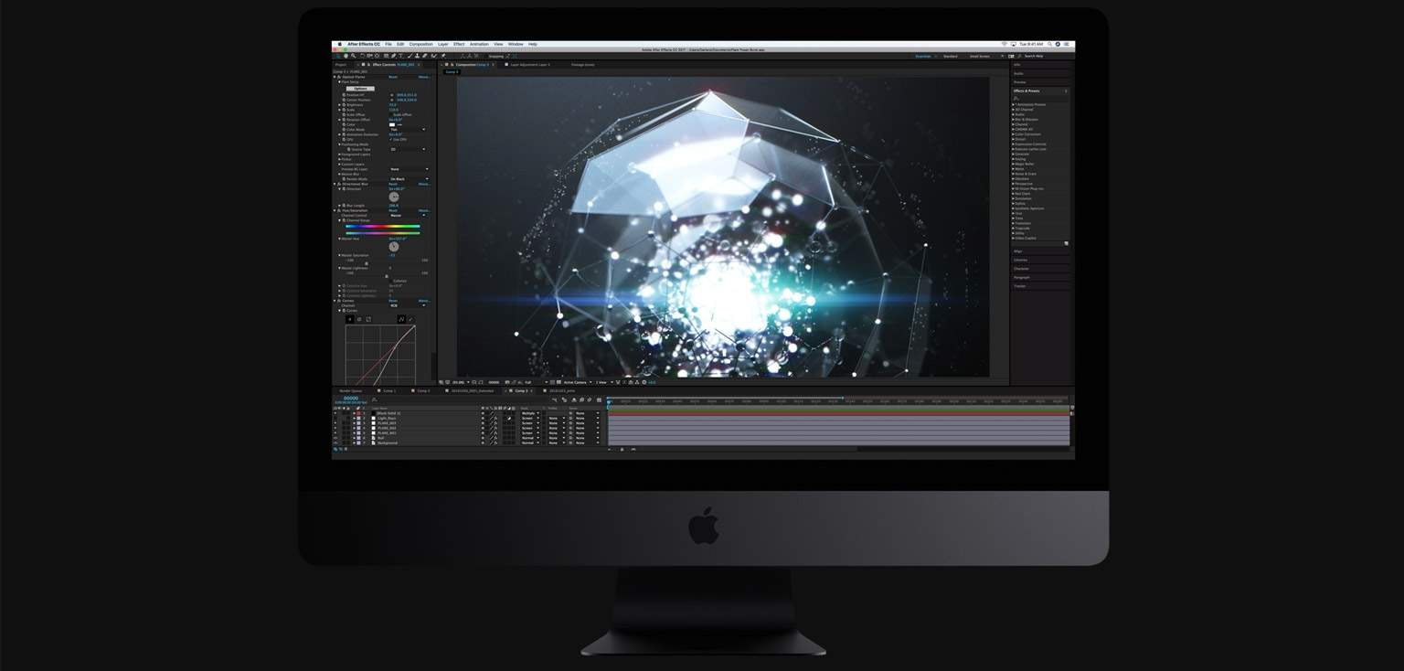 iMac Pro storage